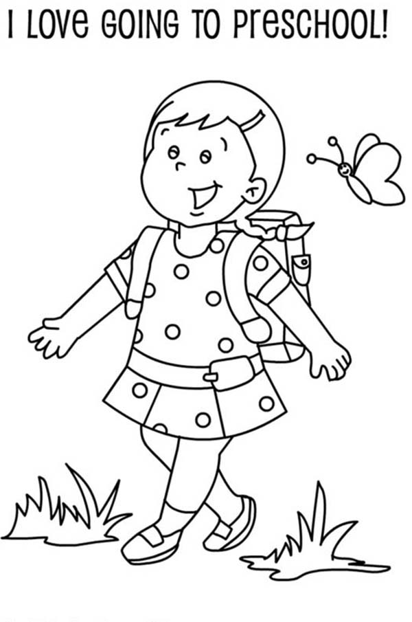 kindergarten coloring pages school - photo#16