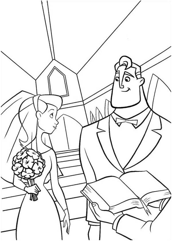 elastigirl incredibles coloring pages - photo#33