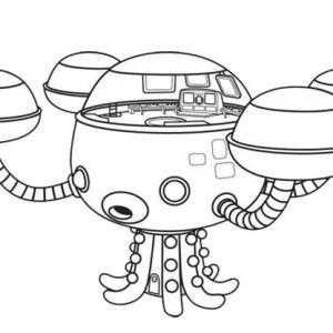 octonauts gup x coloring pages | Octonaut Gup X Coloring Page Sheets Coloring Pages
