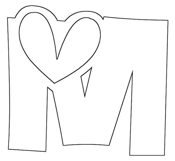 Get This Kids' Printable I Love You Coloring Pages Free Online p2s2s !   554x600