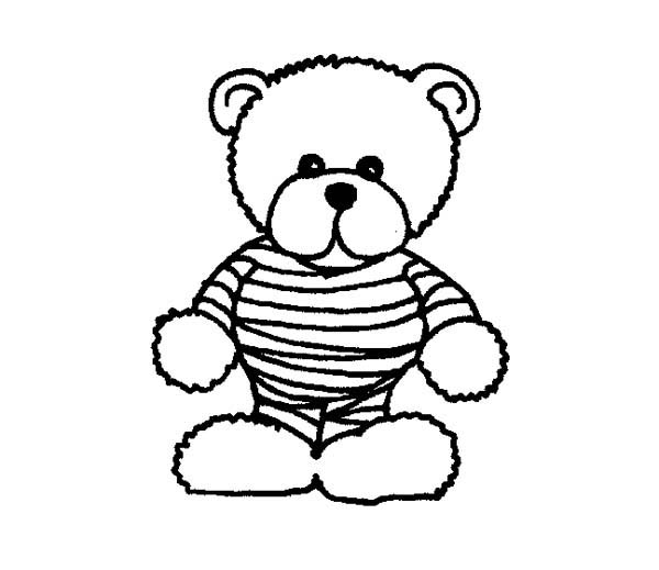 Teddy Bear Coloring Pages | Coloring And Coloring - Coloring Home ... | 519x600