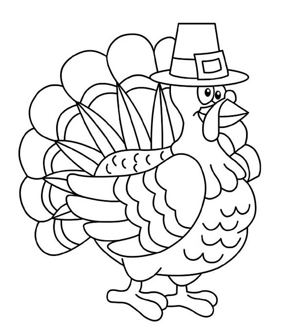 Thanksgiving Day Turkey Trot Chicago Coloring Page Download