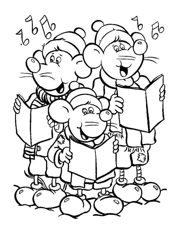 little mouse coloring pages - photo#25