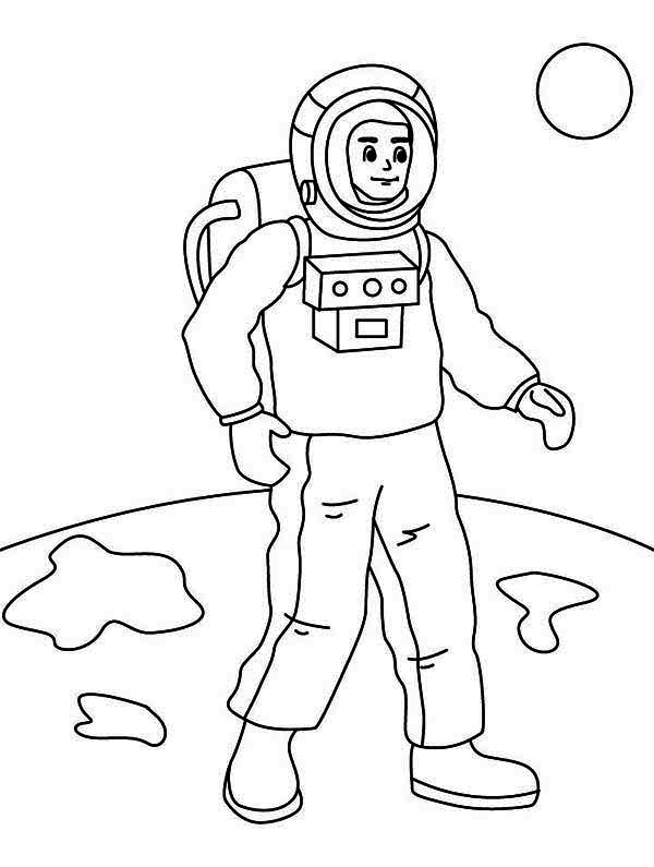 free astronaut printables - 720×954