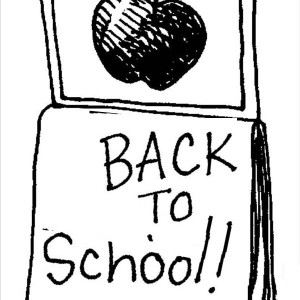 Its Time To Go Back To School On First Day Of School Coloring Page