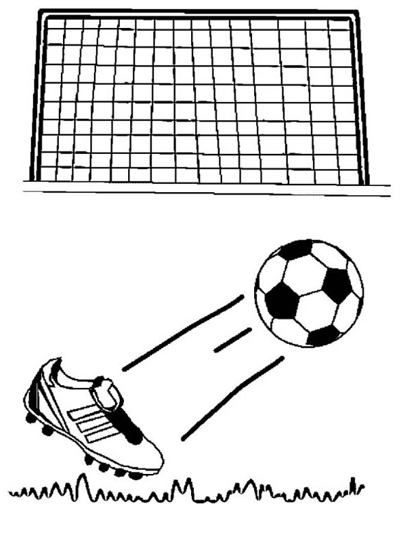 field goal coloring pages - photo#23