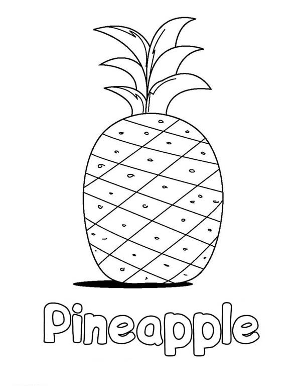 free coloring pages spongebob pineapple - photo#26