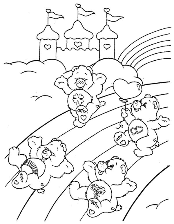 Care bears to print - Care bears Kids Coloring Pages | 772x600