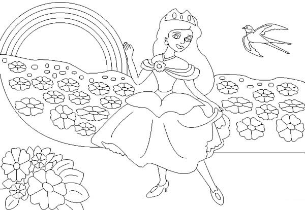 coloring pages : Free Coloring Books For Adults Online New Rainbow ... | 414x600