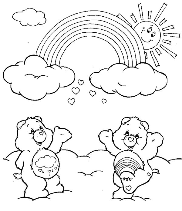 Care Bears Names Pictures - Coloring Home | 697x600
