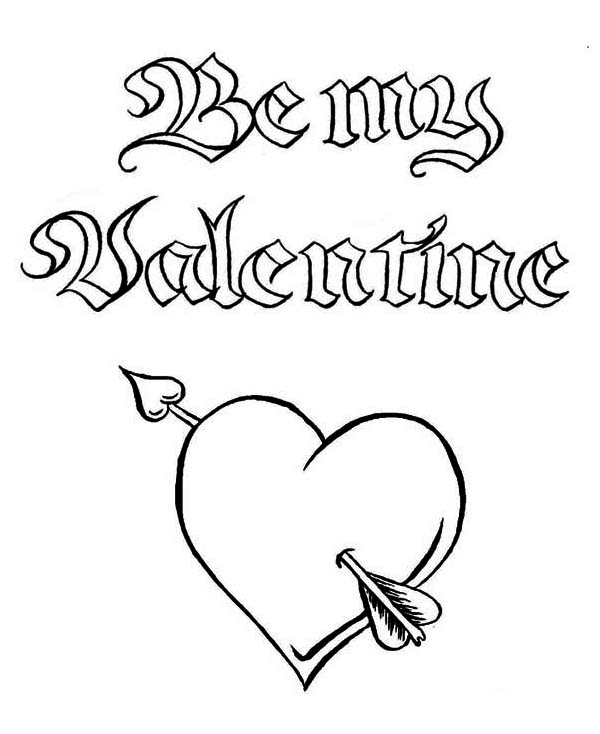 Be My Valentine A Magic Word On