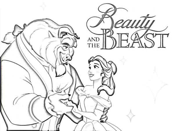 Beauty And The Beast Movie Poster Coloring Page Download Print Online Coloring Pages For Free Color Nimbus