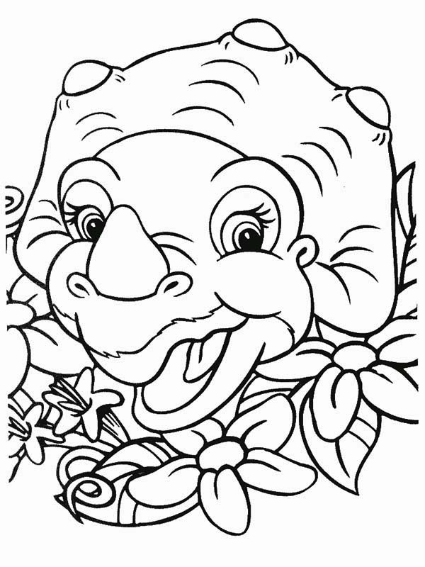 Cera Laugh Land Before Time Coloring Page Download Print Online