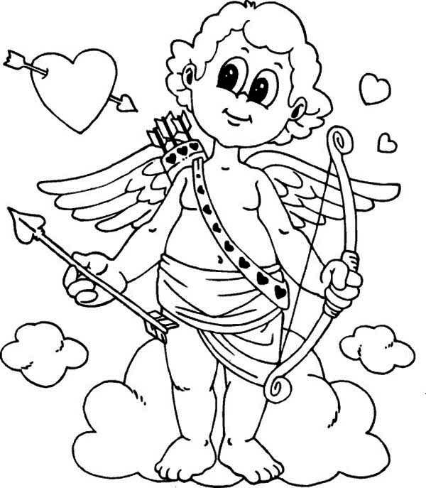 online valentine coloring pages - photo#22