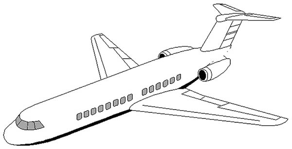 - DC 9 Airplane Coloring Page - Download & Print Online Coloring Pages For  Free Color Nimbus