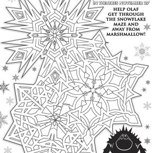 Disney Movie Frozen Poster Coloring Page