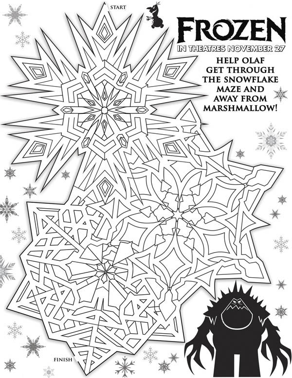 Disney Movie Frozen Poster Coloring Page - Download ...