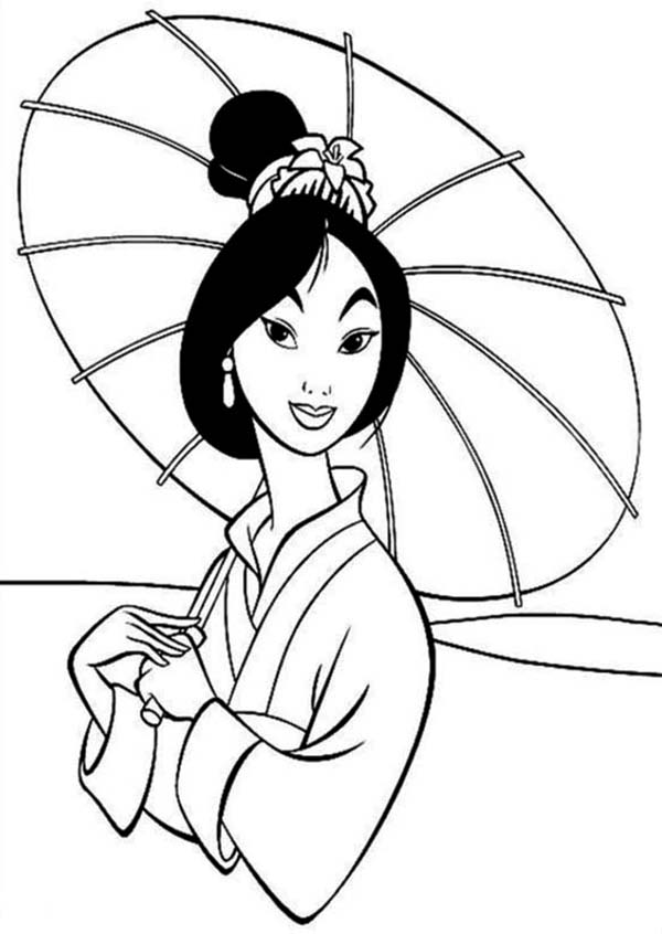 Fa Mulan In Traditional Chinese