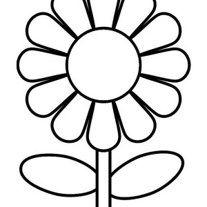 Great Sunflower Coloring Page