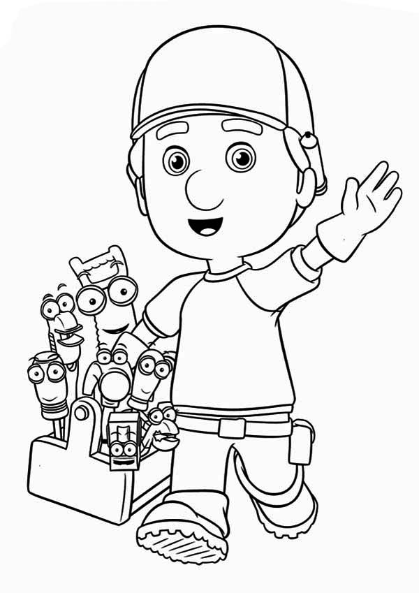 handy manny coloring pages e - photo#27