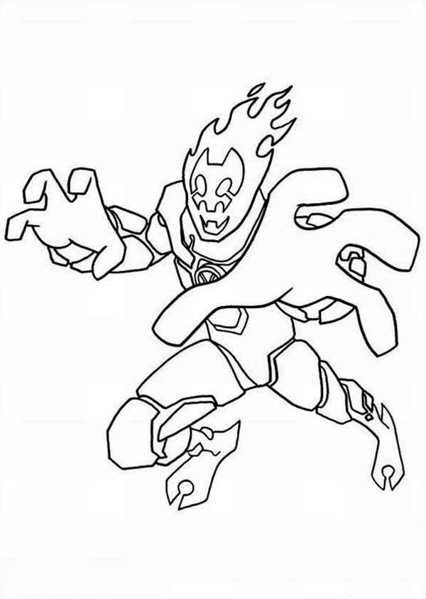Ben 10 #53 (Cartoons) – Printable coloring pages | 844x600