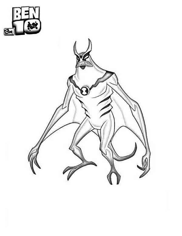 free ben 10 coloring pages alien force | Jetray From Ben 10 Alien Force Coloring Page - Download ...