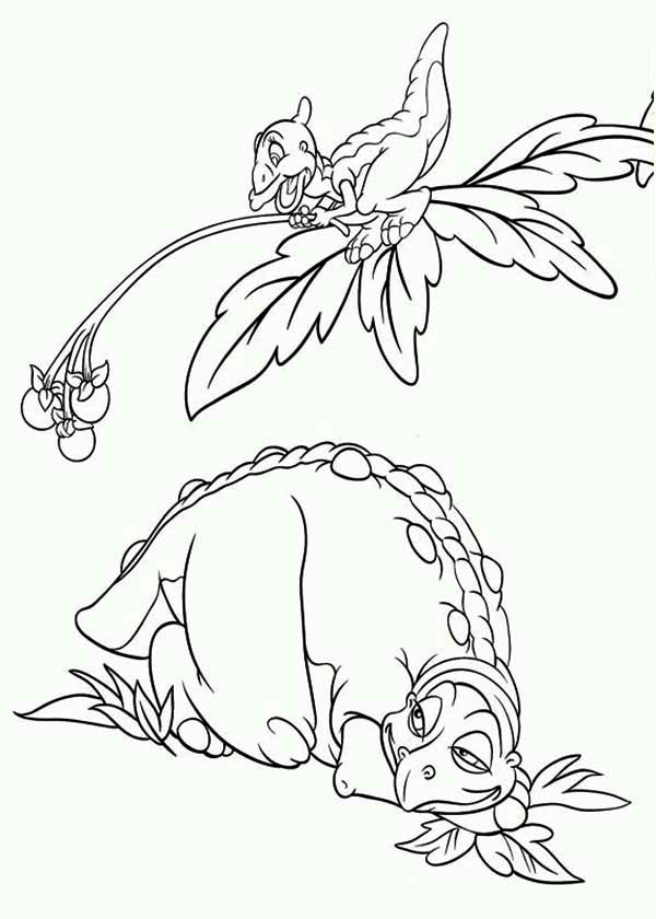 Land Before Time Coloring Pages | Land Before Time Wiki | Fandom | 840x600