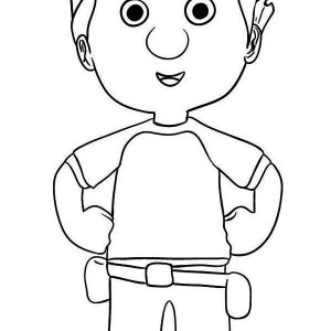 Manny Garcia   Handy Manny Coloring Page