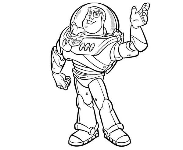 Free Printable Buzz Lightyear Coloring Pages For Kids | 491x600