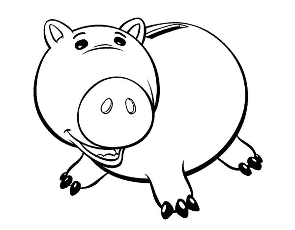 Meet Hamm The Pig In Toy Story