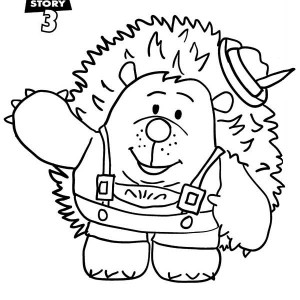 Meet Mr Pricklepants In Toy Story 3 Coloring Page
