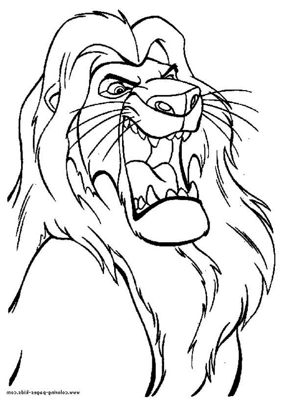 Mufasa The Great The Lion King Coloring Page Download Print Online Coloring Pages For Free Color Nimbus