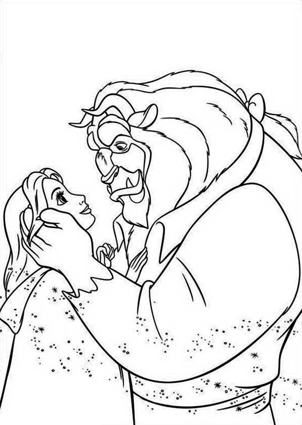 The Story Of Belle And The Beast In Beauty And The Beast ...