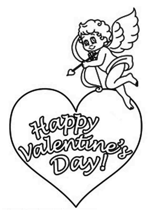 This Little Cupid Say Happy Valentine 39 s