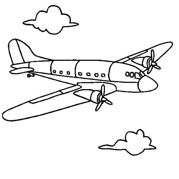 southwest airplane coloring pages - photo#41