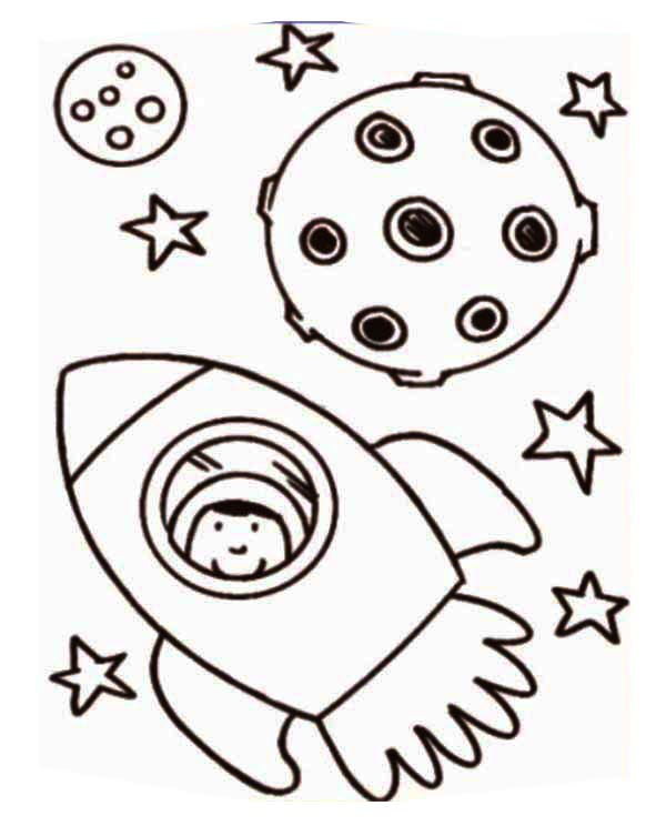Astronaut Inside Rocket Ship Coloring Page Download Print Online Coloring Pages For Free Color Nimbus