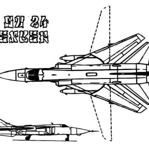 Most Amazing Transformed Wing Jet Fighter Coloring Page