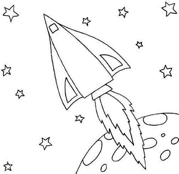 Rocket Launcher Free Coloring Pages