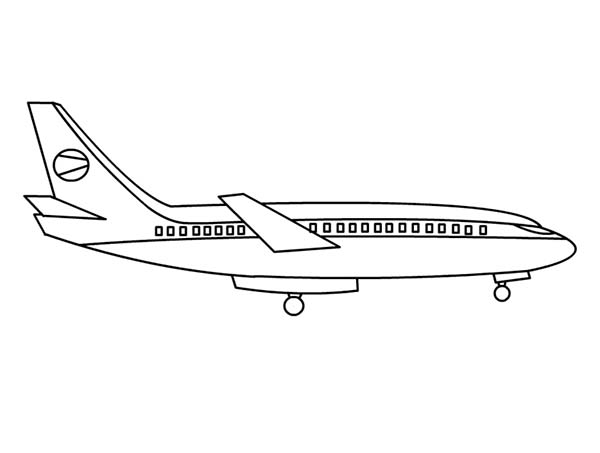 southwest airplane coloring pages - photo#24