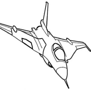 Sky Jockey Power Air Fighter Coloring Page