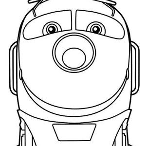 Action Chugger From Chuggington Coloring Page