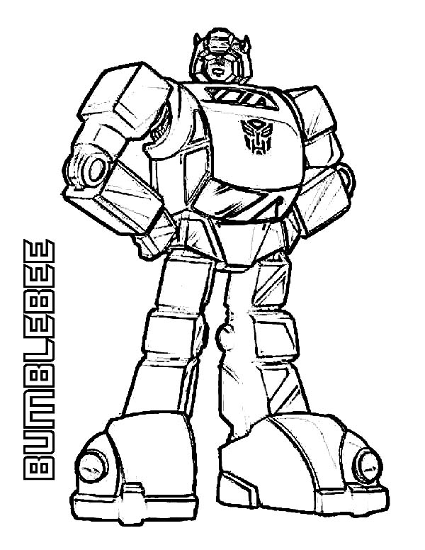 bumblebee coloring pages transformers Amazing Bumblebee Of Transformers Coloring Page   Download & Print  bumblebee coloring pages transformers