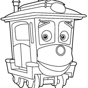 Amazing Calley Of Chuggington Coloring Page