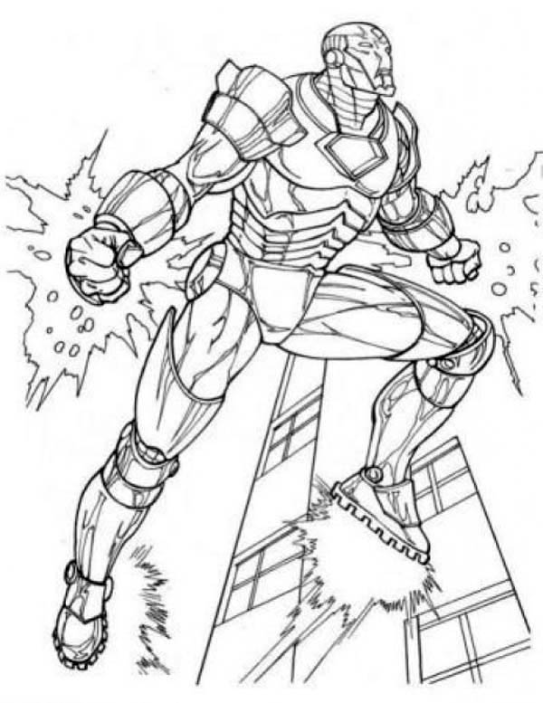 Amazing Iron Man In The Avengers Coloring Page Download Print Online Coloring Pages For Free Color Nimbus