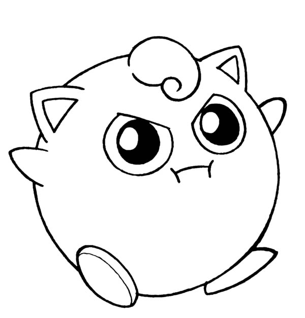 Amazing Pokemon Jigglypuff Coloring