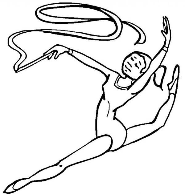 Amazing Ribbon Individual All Around Rhythmic In Gymnastic ...