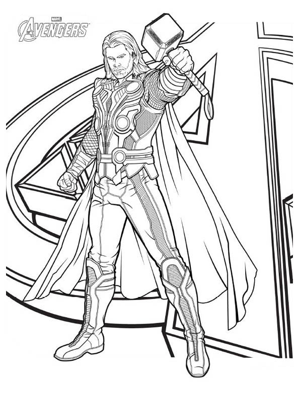 avengers coloring pages loki - photo#26