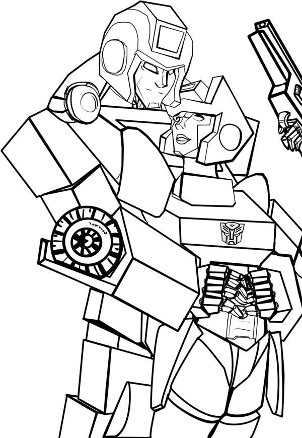 Awesome Ironhide Of Transformers Coloring Page Download Print - Ironhide-coloring-pages