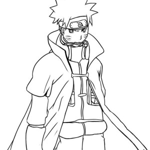 Awesome Naruto Coloring Page