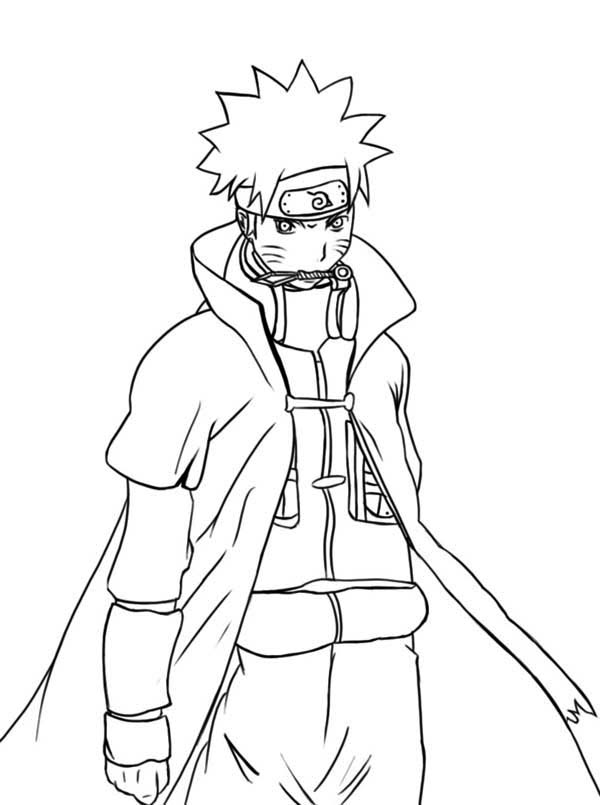 Awesome Naruto Coloring Page Download Amp Print Online